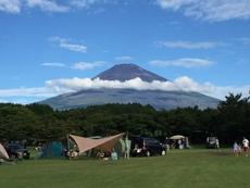 富士山キャンプ at やまぼうしAC(2016/8/15-8/16)